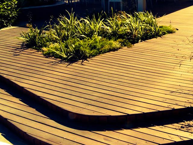 Massaranduba Timber Deck