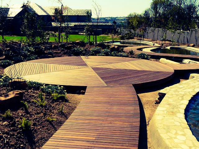 Balau Timber Deck